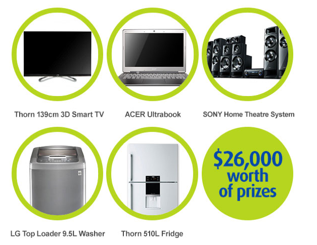Cash First – Get a loan and go into the draw to Win a share of $26000 in prizes