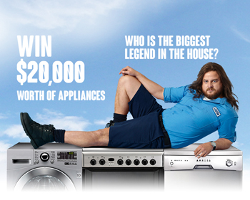 Channel 9 – Big Brother – Win $20,000 worth of Appliances Online