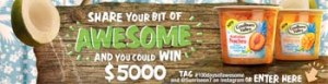 Channel 7 – Sunrise – Win $5,000 each week with #100daysofawesome Competition