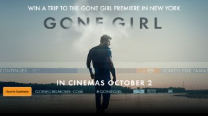 Channel Ten – Win A Trip To New York 2014 for the Gone Girl premiere