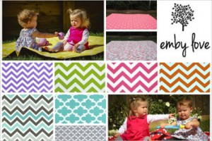 Child Magazines – Win 1 of 2 Family-sized picnic blankets with a carry bag from Emby Love