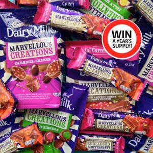 Coles – Win a year's supply of Cadbury Marvellous Creations
