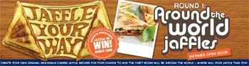 Devondale – Create Your Devondale Cheese Jaffle Recipes To Win the First Round Around The World