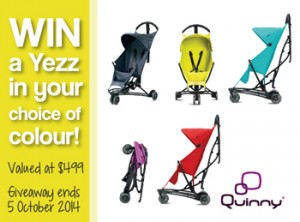 Happy Travel with Kids – Win a Quinny Yezz Stroller