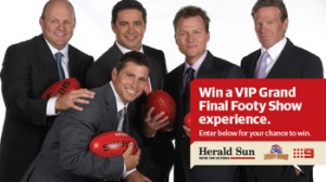 Herald Sun – Win a VIP Grand Final Show Experience for you and 3 friends