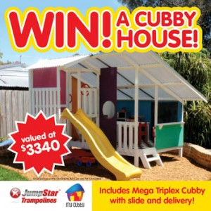 Jumps Star Trampolines – Win a $3,300 Cubby House