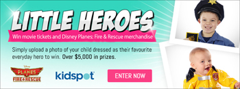 Kidspot – Upload a photo of your child dressed as their favourite everyday hero to Win over $5000 in prizes