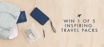 Kikki-K – Win 1 of 5 Inspiring Travel Packs
