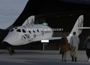 Land Rover  – Win A Trip To Space with Virgin Galactic or Win A Trip to New Mexico, USA 2014