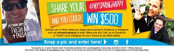 Lifestyle Channel – Submit your #MySpringHappy Photo to Win $500