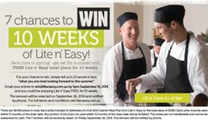 Lite n Easy – Win 10 Weeks of Lite n Easy