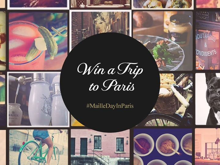 Maille – Win a Trip for two to Paris with #MailleDayInParis Competition