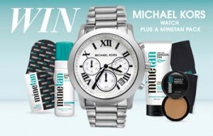 Mine Tan – Win A Michael Kors Watch plus a Minetan Pack Giveaway