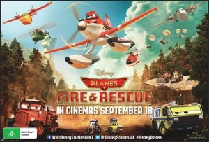 Mum Central – Win a ticket for 4 to see Disney Planes Fire & Rescue – a new comedy-adventure  featuring a dynamic crew of elite firefighting aircraft