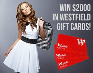 Mum Central – Win $2000 in Westfield Gift Cards