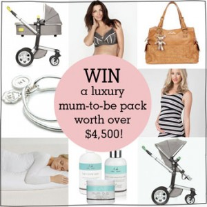 Mums Grapevine – Win a fabulous mum-to-be package worth $4500