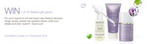 Natio – Win 1 of 10 Restore Gift Packs