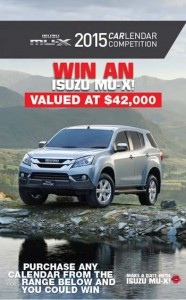 Paper Pocket – Isuzu – Win an Isuzu MU-X Car Valued at $42,000