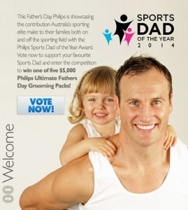 Phillips – Vote To Win Phillips Father's Day Grooming Pack valued at over $5,000