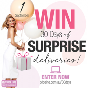 Priceline – Win 30 gifts in 30 days