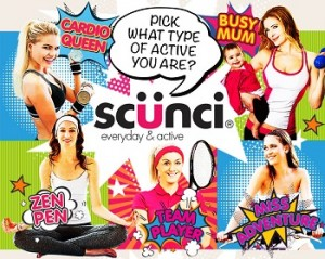 Scunci Hair Accessories – Win 1 of 5 $130 prizes weekly including the new SCUNCI ACTIVE RANGE plus a drink bottle and bag