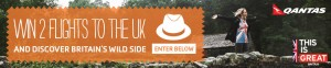 STA Travel – Win a trip to UK to visit Britain Wildcard 2014