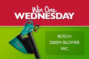 Straco – Win a Bosch Blower Vac
