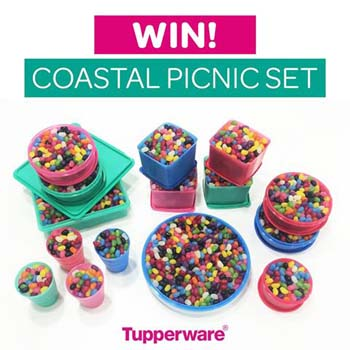 Tupperware – Win a Coastal Picnic Set