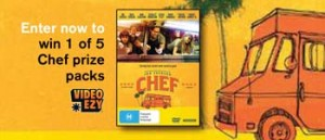 Video Ezy – Win 1 of 5 Chef Prize Packs