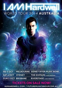 Vmusic – Win tickets to see Hardwell live in concert and Meet-and-greet with Hardwell backstage