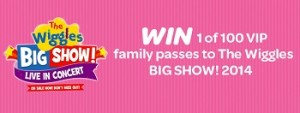 Woolworths Baby and Toddler Club – Win Family Tickets To The Wiggles Big Show 2014