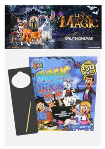 Yogee Toys – Win The House of Magic movie tickets and prize pack