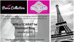 Zamel's Jewellery – Win a 1 Carat Diamond Ring