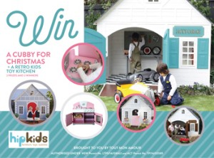 All My Loves – Win a cubby and a retro kids play kitchen for Christmas