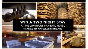 Appelles – Win a luxurious weekend at Gambaro Hotel