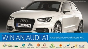 Win a new Audi A1 Car with Golf Australia, The Advertiser and the Sunday Mail