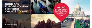 Helloworld – Win $100,000 Promotion (European Car or Hellowworld Travel Voucher)