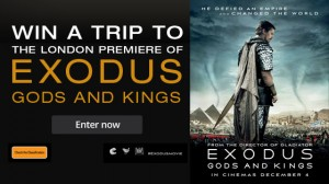 Channel Ten – Win a trip to London to attend the Premiere of Exudos: Gods and Kings