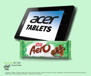 AERO Australia – Win 1 of 4 prize packs including 1 Acer Iconia B1-730 and 5 AERO Mint Bars