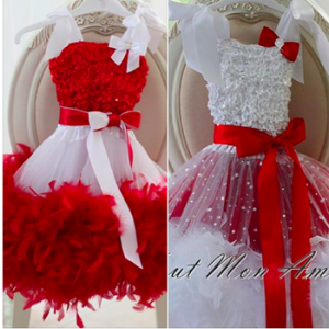 All of my Loves – Win either 1 Santas Little Helper or 1 Plush Red Feather dress