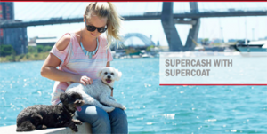 Purina – Purchase any 2 SUPERCOAT pet food products for a chance to Win 1 of 4 prizes of $5,000 cash each