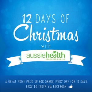 12 Days of Christmas with Aussie Health Products