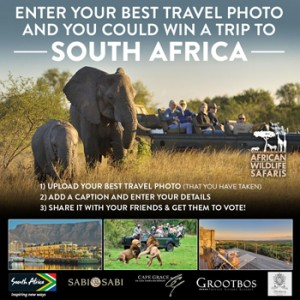 African Wildlife Safaris & Natural – Win a 12-day luxury trip to South Africa valued at $19,650