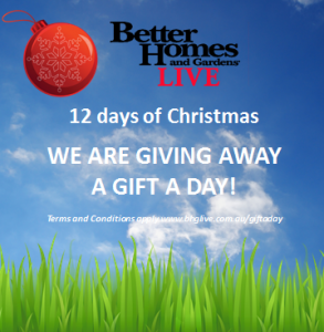 Channel 7 – Better Homes and Gardens Live – Win 12 days of Christmas Giveaway
