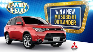Channel Ten – Family Feud – WIN A New Mitsubishi Outlander ES 2WD Car valued at $29,485