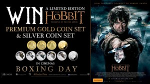 Channel Ten – Win a limited edition of The Hobbit The Battle Of The Five Armies Premium Gold Coin Set & Silver Coin Set