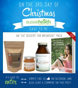 3rd Day of Christmas – 'Eat Dessert for Breakfast' Pack