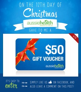 12th Day of Christmas – Aussie Health Products Gift Voucher