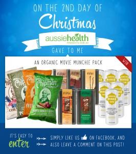2nd Day of Christmas – Organic Movie Munchie Pack