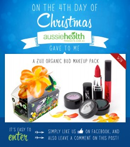 4th Day of Christmas – A Zuii Organic Bud Makeup Pack